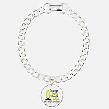 Spina Bifida CourageFait Bracelet