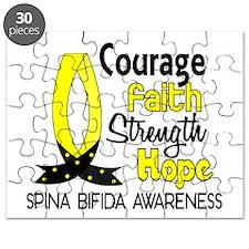 Spina Bifida CourageFaith1 Puzzle