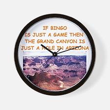 BINGO2 Wall Clock