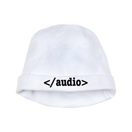 End Audio HTML5 Code baby hat