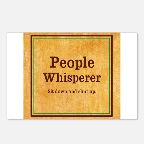 People Whisperer Postcards (Package of 8)