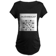 CROSSWORDS5 Maternity T-Shirt