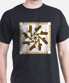 Saxophone Flower Shirts and G T-Shirt