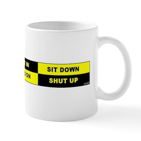 Taxi Rules Mug