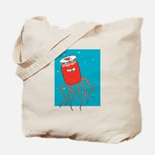 Funny Jelly Jar Jellyfish Tote Bag