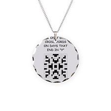 CROSSWORDS2 Necklace