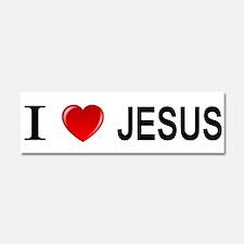 I Love Jesus Car Magnet 10 x 3