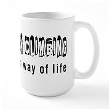 Rock Climbing it is a way of life Mug