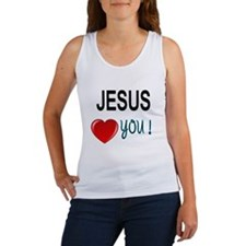 Jesus loves you Tank Top