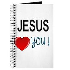 Jesus loves you Journal
