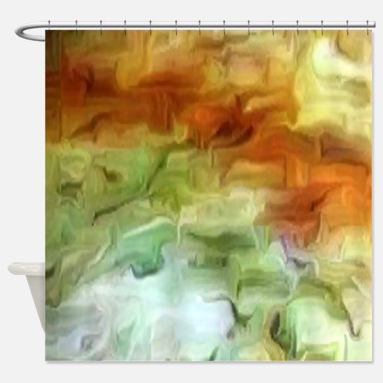 Earth Cave Shower Curtain