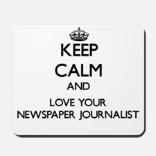 Keep Calm and Love your Newspaper Journalist Mouse