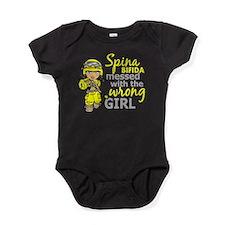 Combat Girl 1 Spina Bifida Baby Bodysuit