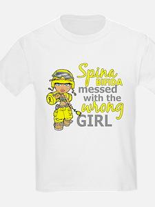 Combat Girl 1 Spina Bifida T-Shirt