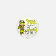 Combat Girl 1 Spina Bifida Mini Button (100 pack)