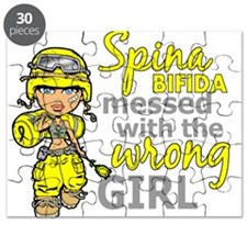 Combat Girl 1 Spina Bifida Puzzle