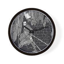 The Cask of Amontillado Wall Clock