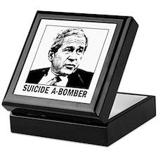 Bush, suicide A-Bomber Keepsake Box