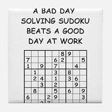 SUDOKU4 Tile Coaster