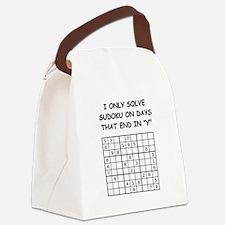 SUDOKU3 Canvas Lunch Bag