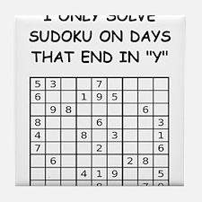 SUDOKU3 Tile Coaster