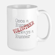 Funny Former Runner Volunteer Large Mug