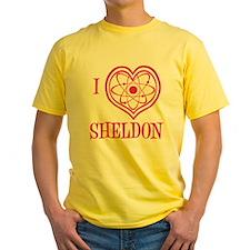 melon, I Love Sheldon, designer T-Shirt