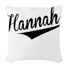 Hannah, Retro, Woven Throw Pillow