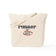 Runner or not! Tote Bag