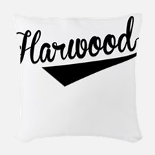 Harwood, Retro, Woven Throw Pillow
