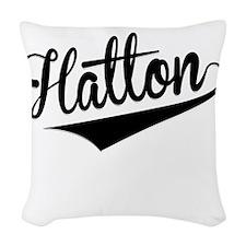 Hatton, Retro, Woven Throw Pillow