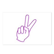 Subtle Peace Sign Postcards (Package of 8)