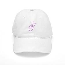 Subtle Peace Sign Baseball Cap