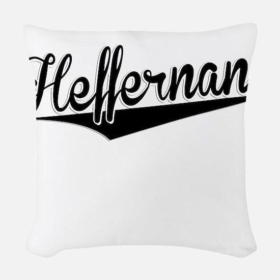Heffernan, Retro, Woven Throw Pillow
