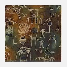 Hopi Petroglyphs Tile Coaster