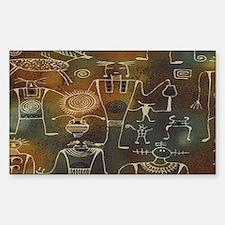 Hopi Petroglyphs Decal