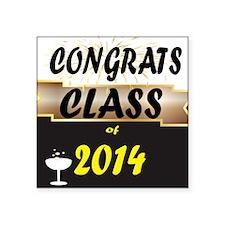CONGRATS CLASS 2014 Sticker