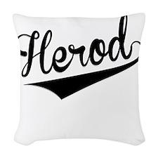 Herod, Retro, Woven Throw Pillow