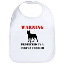 Protected By A Boston Terrier Bib