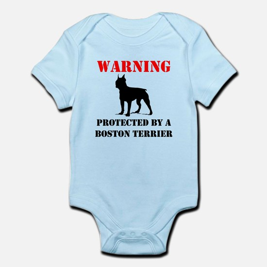 Protected By A Boston Terrier Body Suit