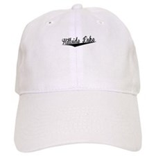 Hillside Lake, Retro, Baseball Baseball Cap