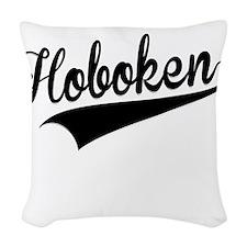 Hoboken, Retro, Woven Throw Pillow