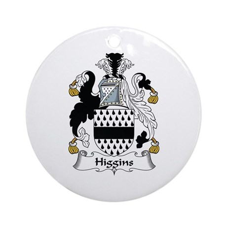 Higgins Ornament (Round)