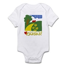 There's No Place Like Kansas Infant Bodysuit