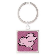 Angel Pigs Keychains