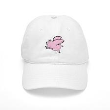 Adorable Angel Pig Baseball Cap
