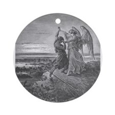 Dore - Jabob Wrestling with the Angel - 1855 - Dra