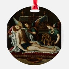Alessandro Allori - Body of Christ Annointed by Tw