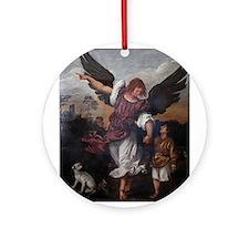 Titian - Archangel Raphael Tobias - 16th Century O