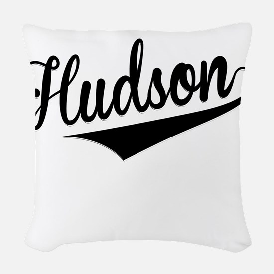 Hudson, Retro, Woven Throw Pillow